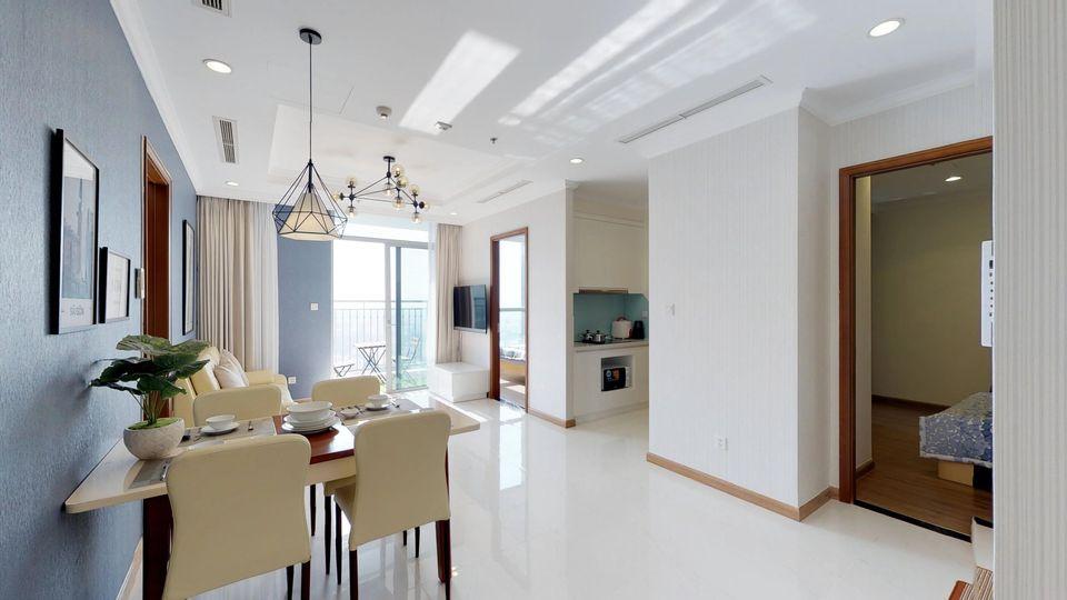 Cho thuê 3 phòng ngủ Vinhomes Central Park - ID 010218