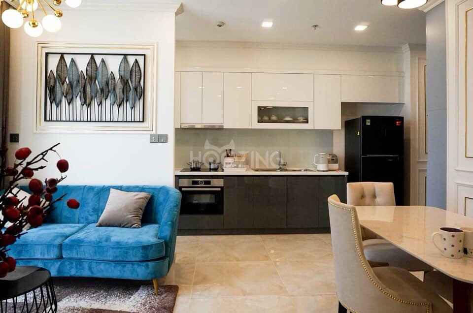 Cho thuê 2 phòng ngủ Vinhomes Golden river - ID 010108