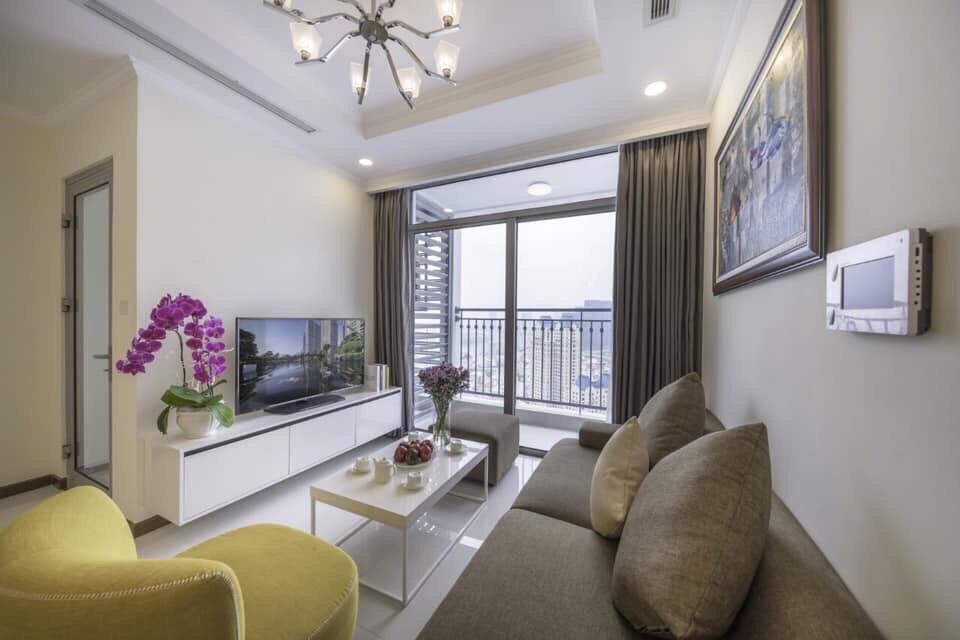 Cho thuê 2 phòng ngủ Vinhomes Central Park - ID 010134