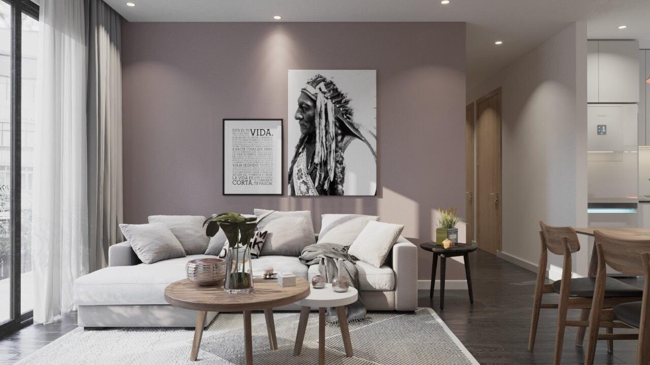Cho thuê căn hộ 3 phòng ngủ nhà siêu đẹp dự án The Sun Avenue - ID 010028