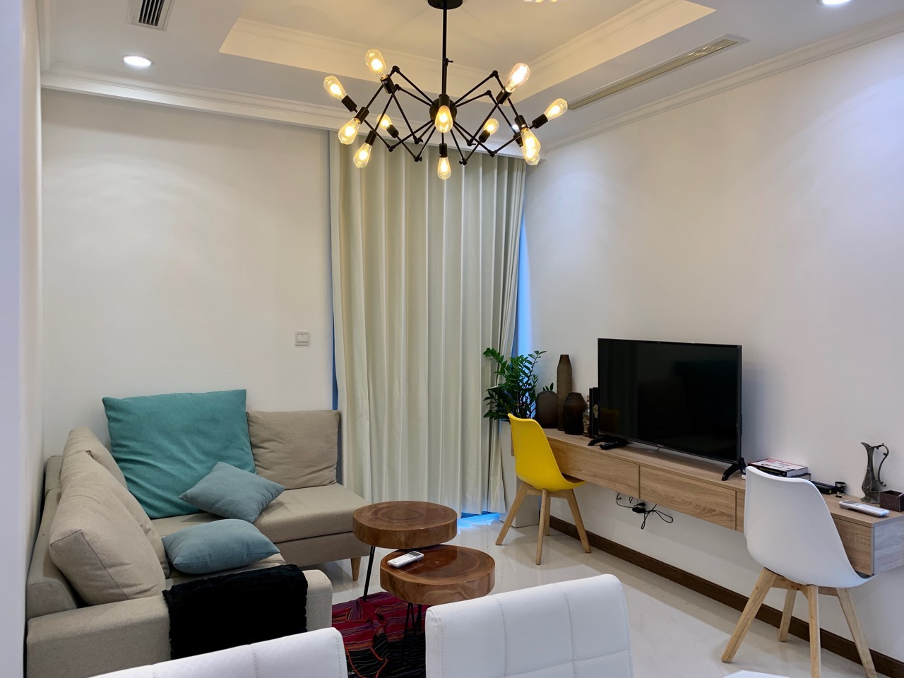 Bán căn hộ 1 phòng ngủ Vinhomes Central Park - ID 010061