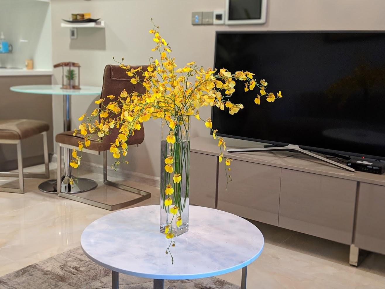 Cho thuê 1 phòng ngủ Vinhomes Golden river - ID 010104