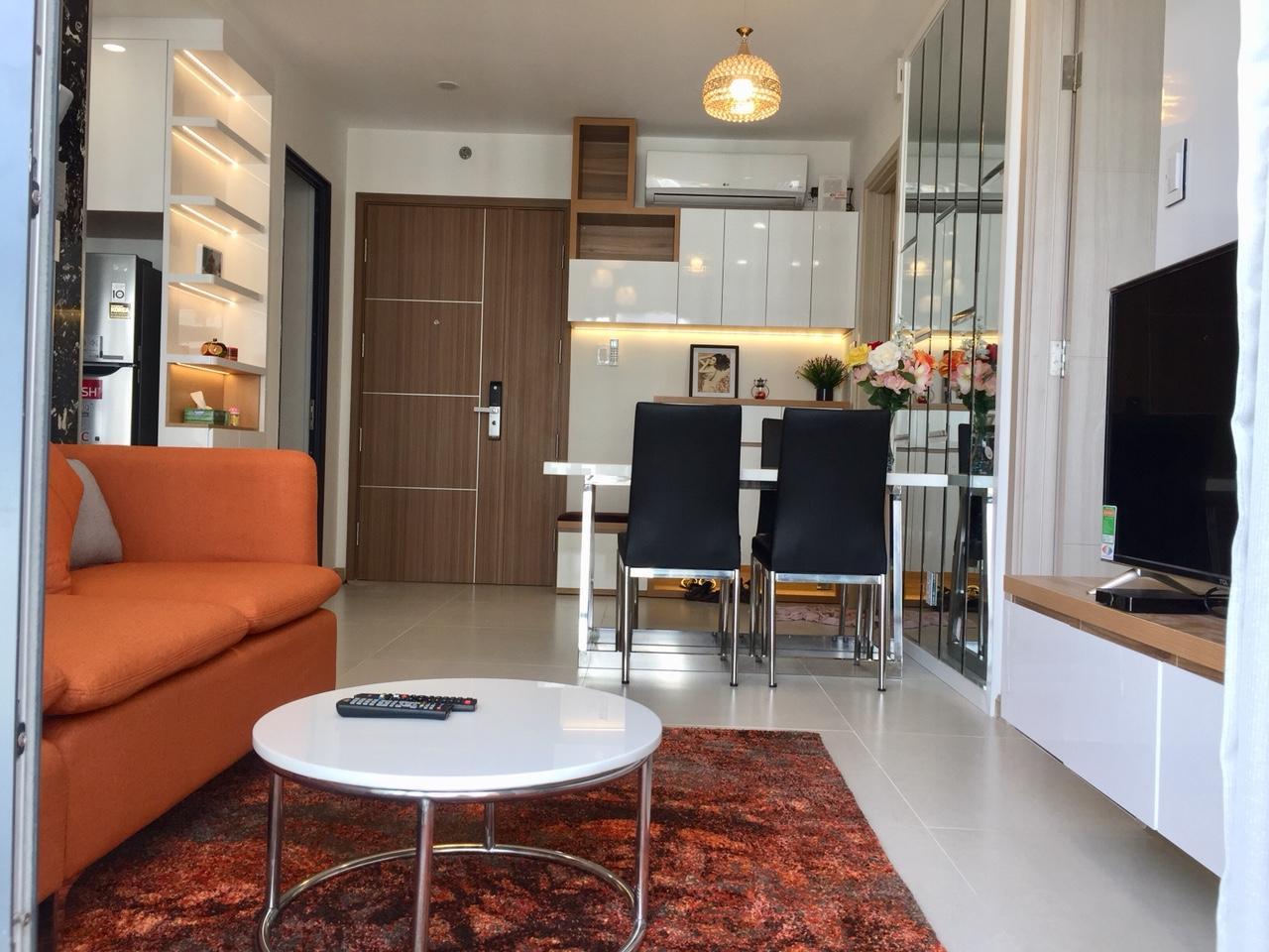 Cho thuê 2 phòng ngủ New City Thủ Thiêm - ID 010087