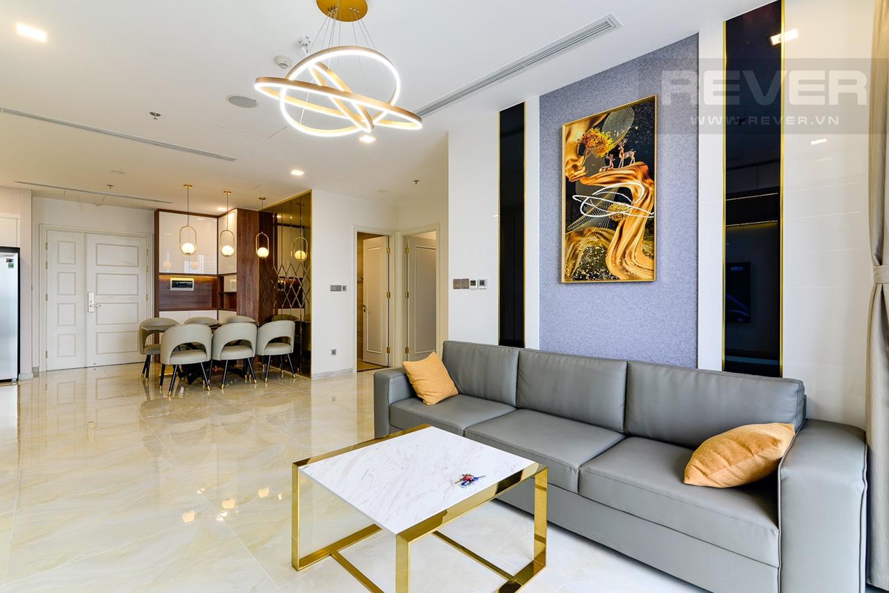 Cho thuê 3 phòng ngủ Vinhomes Golden river - ID 010118