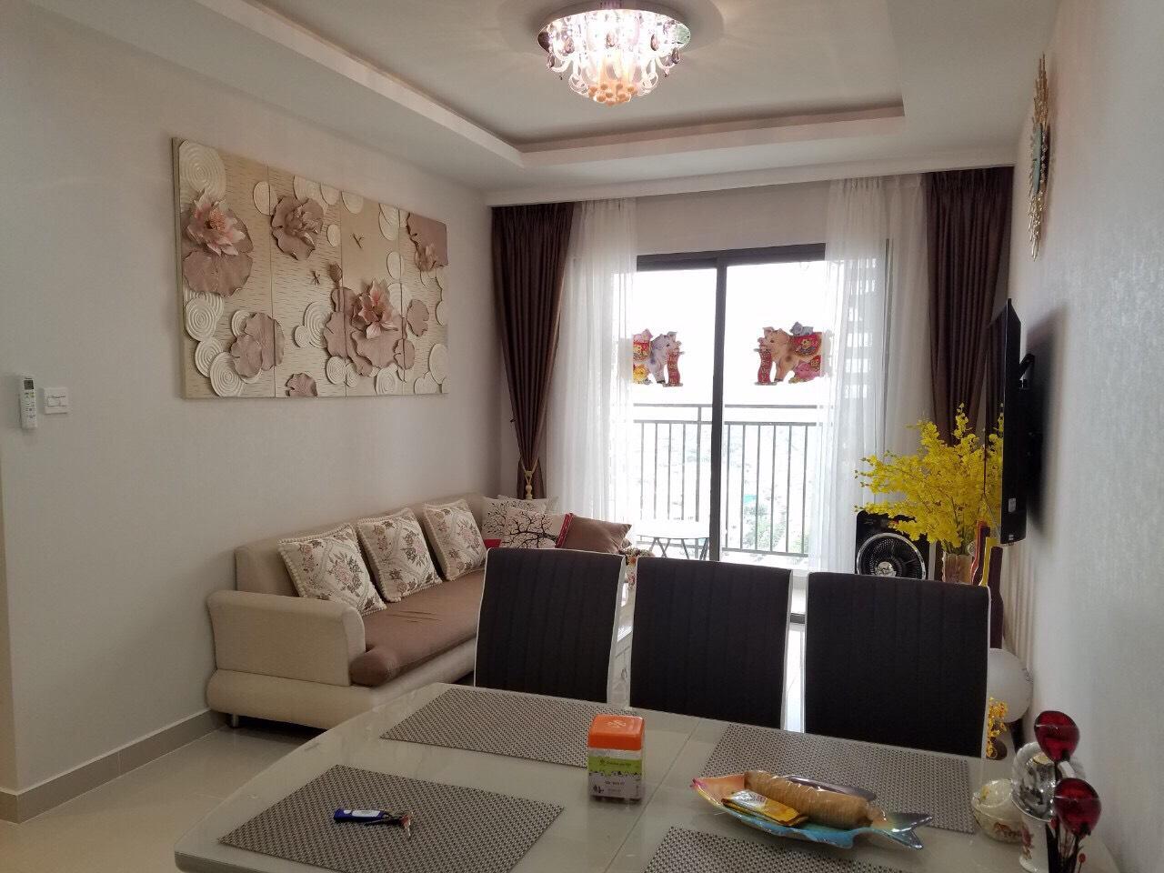 2PN Full nội thất cao cấp giá tốt tại The Sun Avenue - ID 010015