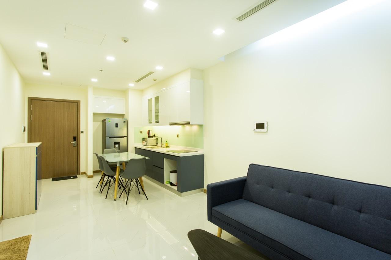 Bán căn hộ 1 phòng ngủ Vinhomes Central Park - ID 010063