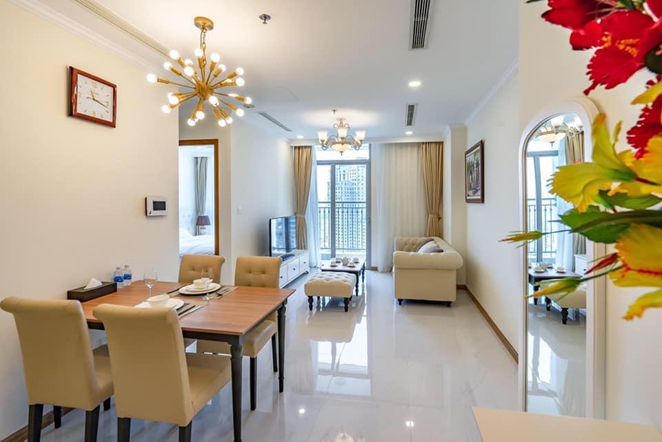 Cho thuê 2 phòng ngủ Vinhomes Central Park - ID 010224