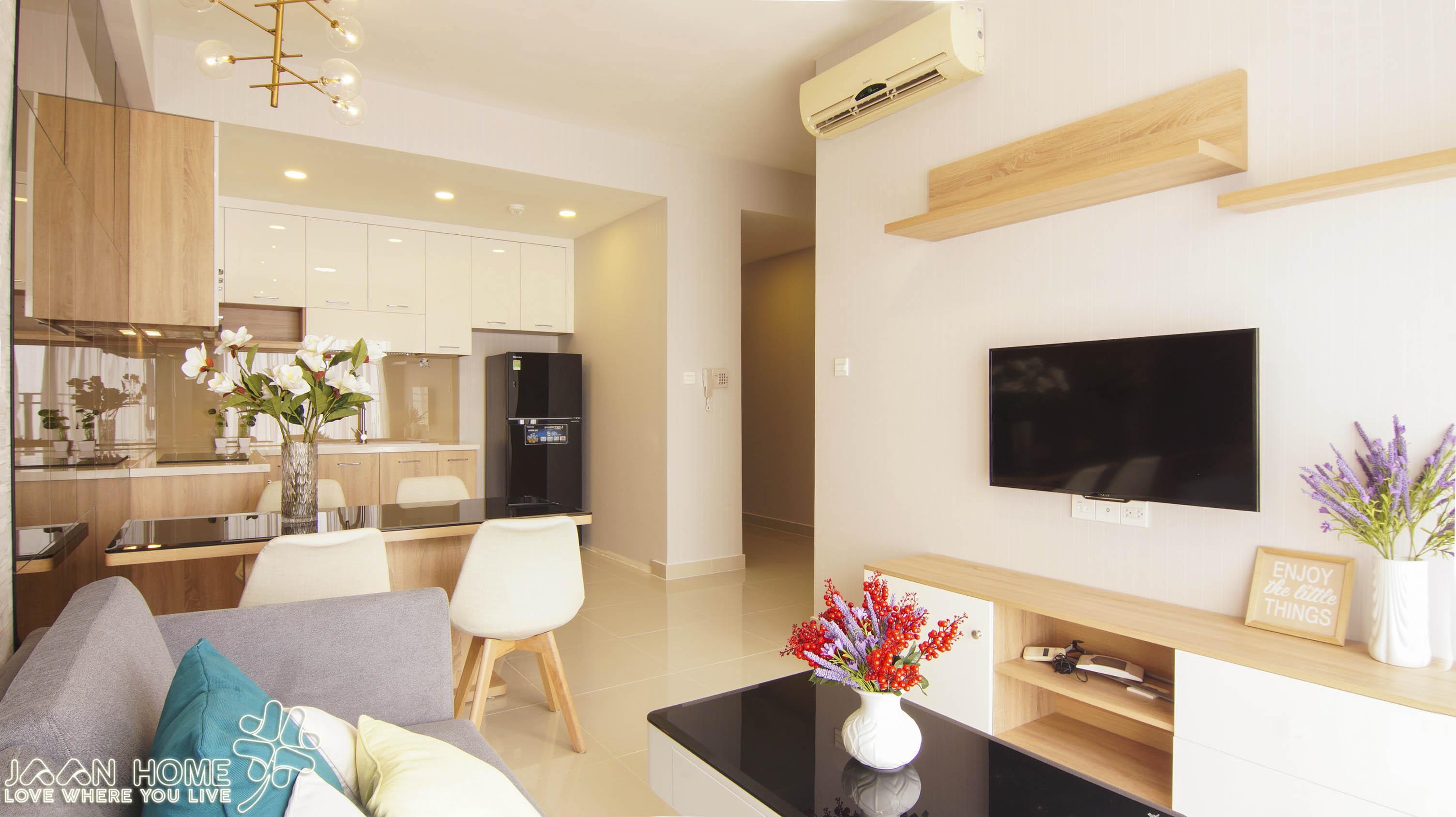 Căn hộ 3 phòng ngủ rộng nhất The Sun Avenue  - ID 010030