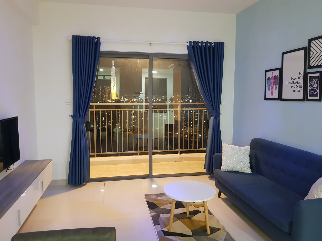 Cho thuê 3 phòng ngủ The Sun Avenue - ID 010169