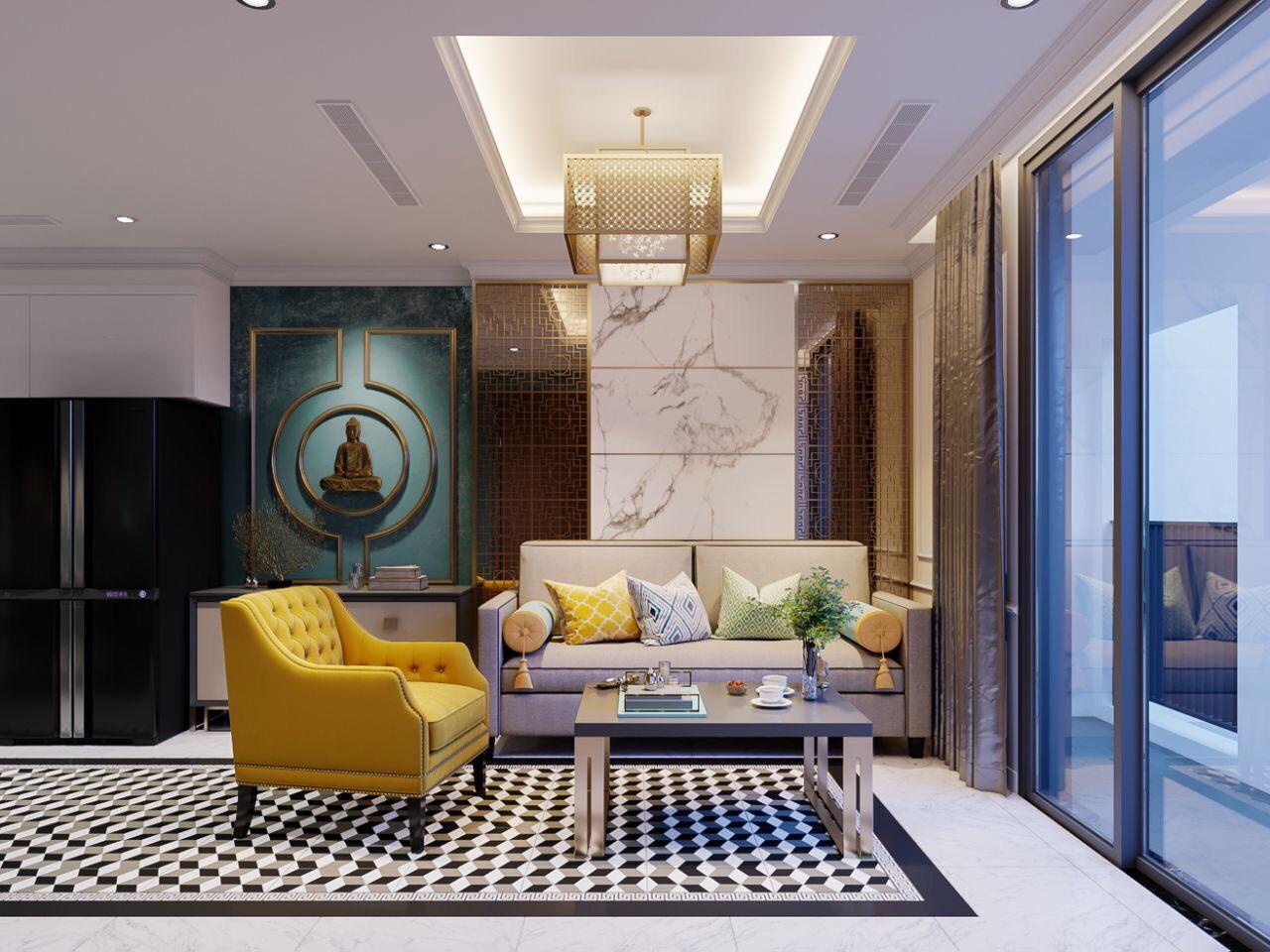 Cho thuê 1 phòng ngủ Vinhomes Central Park - ID 010127