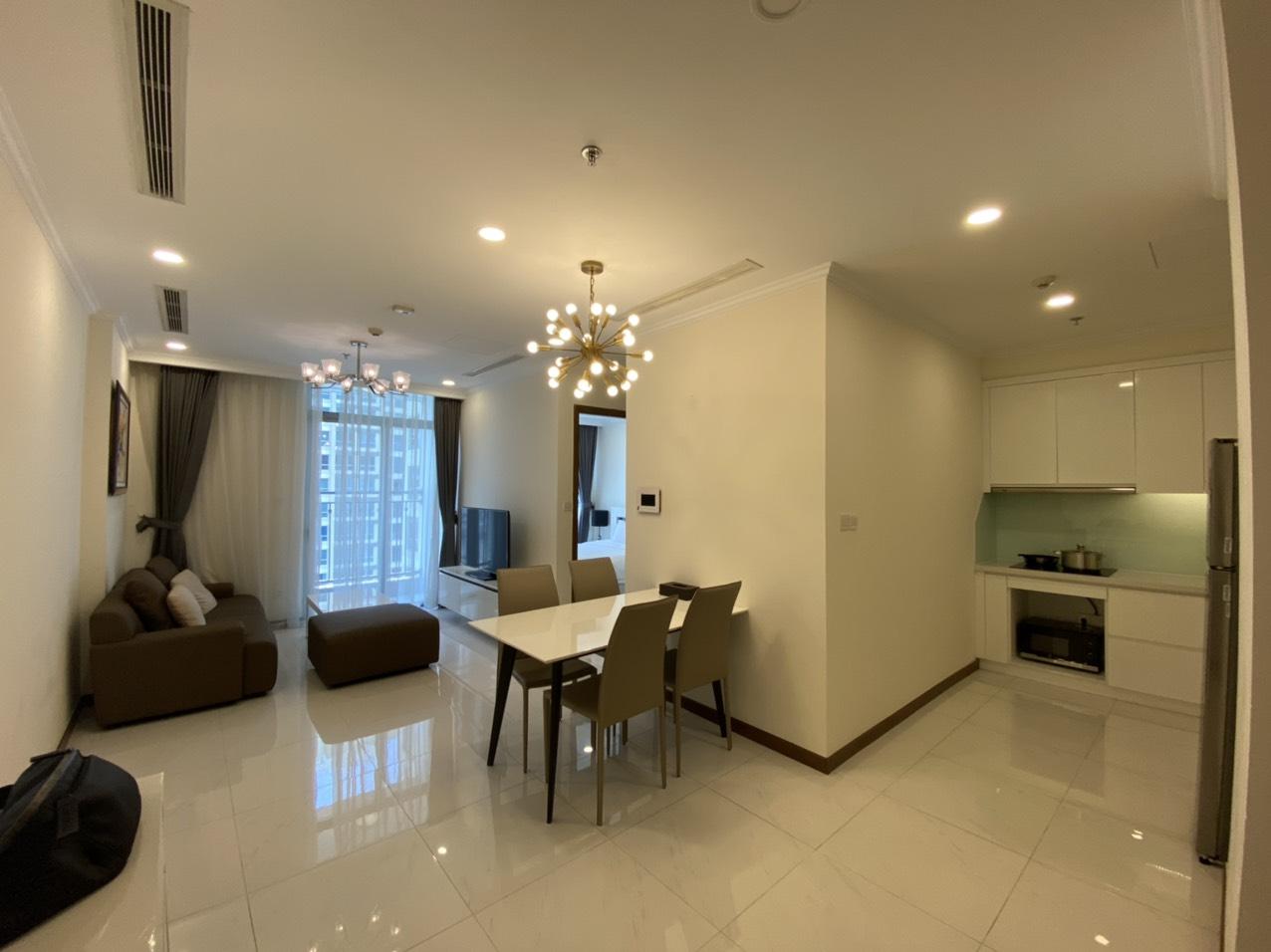 Cho thuê 1 phòng ngủ Vinhomes Central Park - ID 010131
