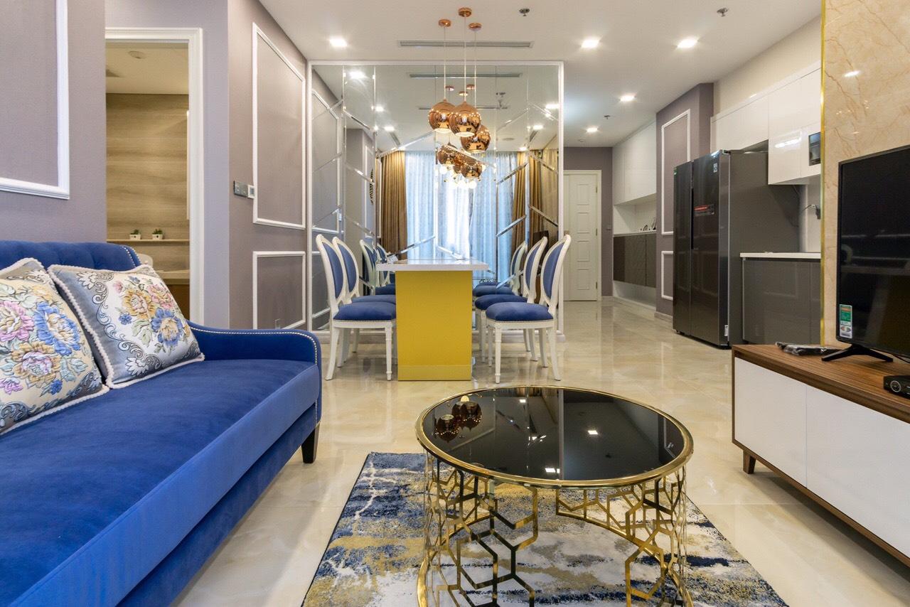 Cho thuê 2 phòng ngủ Vinhomes Golden river - ID 010101